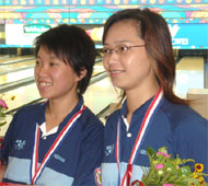 Girls Singles Gold