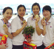 Girl's Team Gold