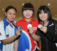Girl's Singles Medalists
