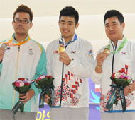 Men's AE Medalists