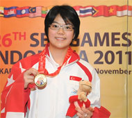 Women's Masters Gold Medalist