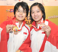 Women's Singles Gold and Bronze