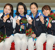 Women's Doubles Gold and Silver