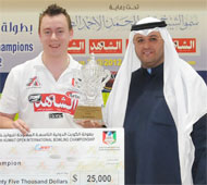 Champion with Sheikh