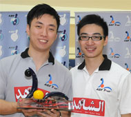 Champion with Eric Tseng