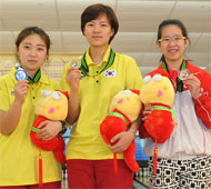 Girl's Masters Medalists
