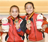 Girl's Doubles Gold