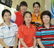 Women's Open Finalists